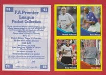 Bolton Wanderers Pedersen Leicester City Deane Fulham Melville Charlton Athletic Kiely (B)