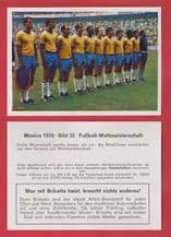 Brazil team with Pele 33