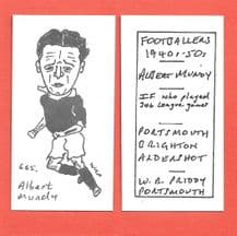 Brighton Hove Albion Albert Mundy 665
