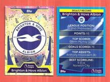 Brighton Hove Albion Badge 37 (JK)