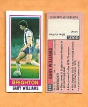 Brighton Hove Albion Gary Williams 148