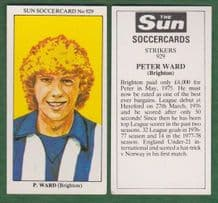 Brighton Hove Albion Peter Ward