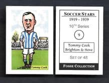 Brighton Hove Albion Tommy Cook 9 (FC)