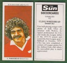 Bristol City Clive Whitehead