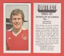 Bristol City Joe Royle  1