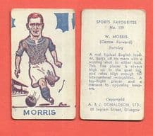 Burnley Billy Morris 139 (AJD)
