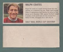Burnley Ralph Coates England DM70