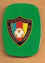 Cameroon Badge (WC82)