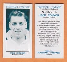 Carlisle United Jack Connor 19 (FF1)