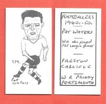 Carlisle United Paddy Waters 939
