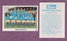Carlisle United Team 58