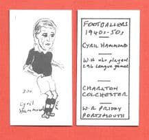 Charlton Athletic Cyril Hammond 380