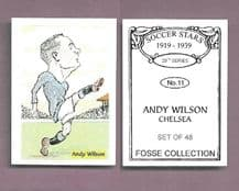 Chelsea Andy Wilson 11 (FC)