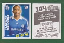 Chelsea Florent Malouda France 104