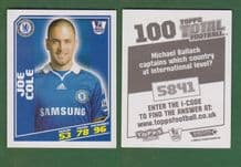 Chelsea Joe Cole England 100
