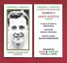 Chester City Harry Webster 9 (RGFH)