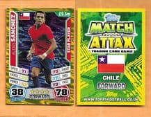 Chile Alexis Sanchez Barcelona 55 Star Player (14AS)