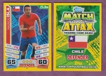Chile Mauricio Isla Juventus 50 (14AS)