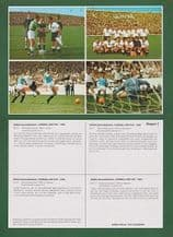 Chile Northern Ireland Uruguay West Germany 1 UNCUT Beckenbauer