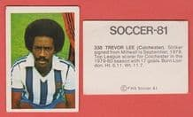 Colchester United Trevor Lee 338