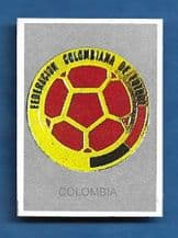 Colombia Badge 1990