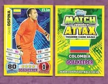 Colombia David Ospina Nice 56 (14AS)