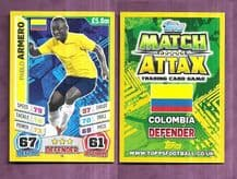 Colombia Pablo Armero West Ham United 58 (14AS)