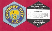 Coventry City Badge (MS)