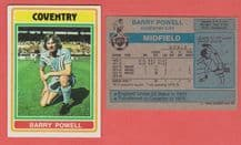 Coventry City Barry Powell 271