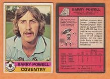 Coventry City Barry Powell 324