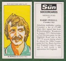 Coventry City Barry Powell