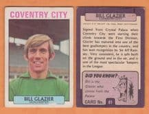 Coventry City Bill Glazier 81