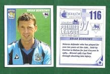Coventry City Brian Borrows 116 (AS)