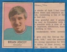 Coventry City Brian Joicey 1970