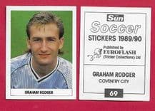 Coventry City Brian Rodger 69