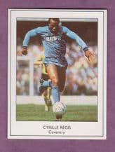 Coventry City Cyrille Regis England (VB)