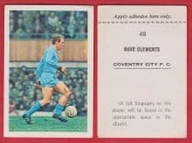 Coventry City Dave Clements 49