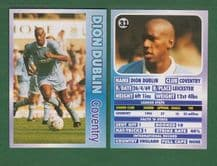 Coventry City Dion Dublin England 31