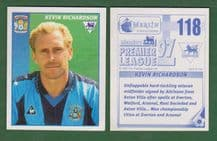 Coventry City Kevin Richardson 118