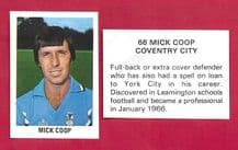 Coventry City Mick Coop 66