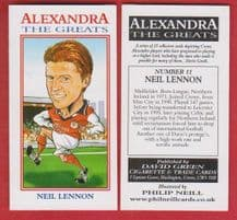Crewe Alexandra Neil Lennon Northern Ireland 11