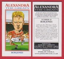 Crewe Alexandra Rob Jones England 10
