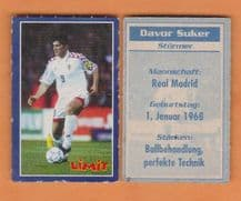 Croatia Davor Suker Real Madrid (L)