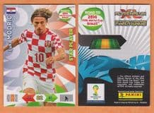 Croatia Luka Modric Real Madrid Star Player 2014