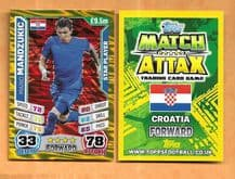 Croatia Mario Mandzukic Bayern Munich Star Player 71