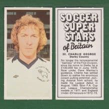 Derby County Charlie George England 32