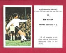 Derby County Ron Webster 89