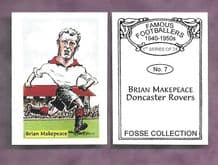 Doncaster Rovers Brian Makepeace 7 (FC)