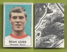 Doncaster Rovers Brian Usher 1969 1