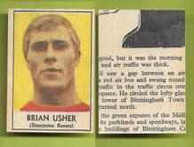 Doncaster Rovers Brian Usher 1969 2